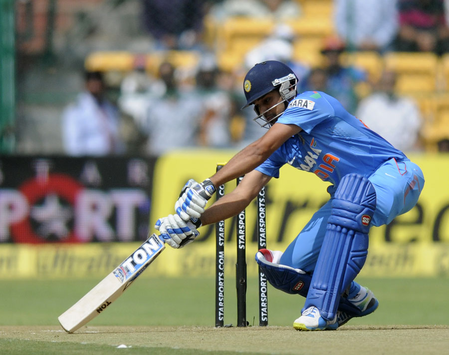 Rohit Sharma 3rd ODI batsman to hit double century - smashes 209 took India to 383 for 6 Against Australlia